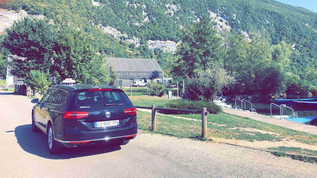 ViaSavoie Taxi Novalaise Nances lac d'Aiguebelette