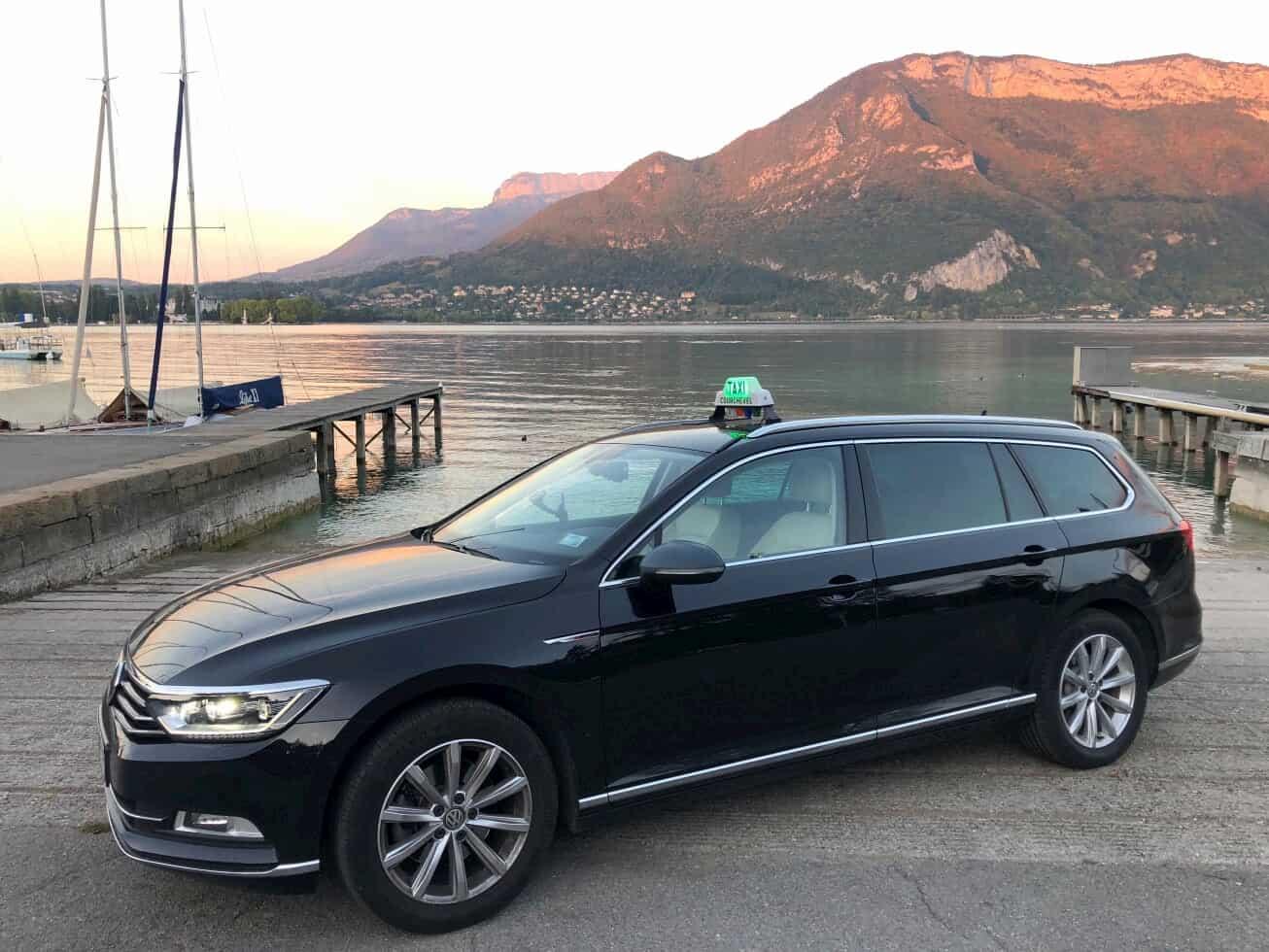 ViaSavoie Taxi VSL Annecy lac