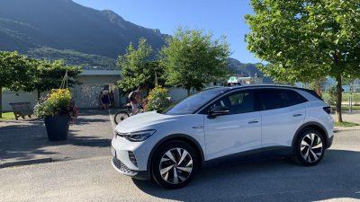 taxi le bourget du lac - volkswagen ID4 electrique